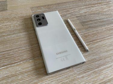 Galaxy Note 20 Ultra・Galaxy Note 10+海外版の日本語化の方法
